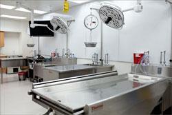 Autopsia, salón de autopsia