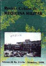 portada - Revista Cubana de Medicina Militar - Vol. 28; No. 2 (1999)_small