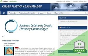 CNICM - portada sitio & sello calidad Infomed