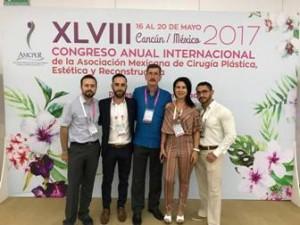 XLVIII congreso AMCPER - Rafael & Alicia + residentes_foto familia