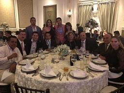 XLIX congreso AMCPER – Rafael & delegación cena gala