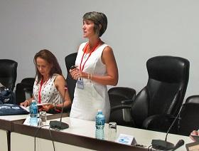 congreso cuba-italia - exposición Dra. Alina