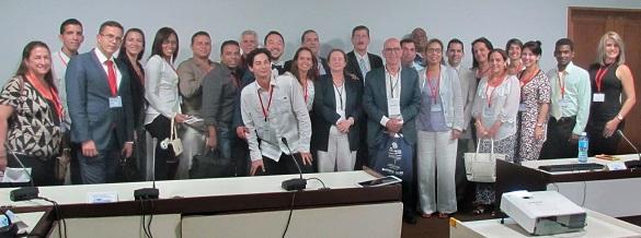 congreso cuba-italia - foto familia participantes