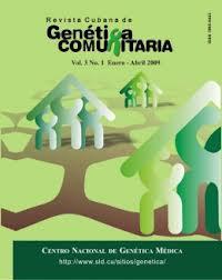 Revista genética comunitaria