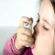 bebé asmática