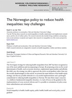 The Norwegian policy to reduce health