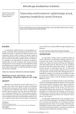 Tuberculosis multirresistente: epidemiología actual, esquemas terapéuticos, nuevos fármacos