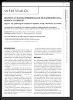 Diagnóstico y vigilancia epidemiológica de virus respiratorios en la provincia de Corrientes, Argentina