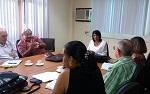 Reunión de la junta de gobierno de la Sociedad Cubana de Higiene y Epidemiologia con la viceministra Dra. Regla Angulo Pardo