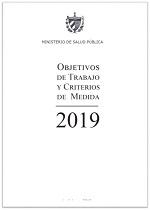 Objetivos de Trabajo y Criterios de Medida, 2019