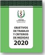 Objetivos de Trabajo y Criterios de Medidas, 2020