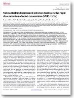 Substantial undocumented infection facilitates the rapid dissemination of novel coronavirus (SARS-CoV2)