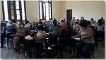 """Sesión del """"Simposio para el modelado, seguimiento e intervención epidemiológica del COVID-19"""""""