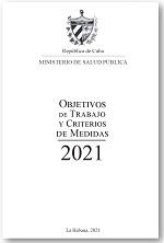 Objetivos de Trabajo y Criterios de Medidas, MInsap, 2021