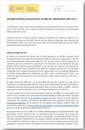 Informe científico-divulgativo: un año de coronavirus SARS-CoV-2