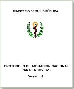 """""""Protocolo de Actuación Nacional para la COVID-19"""" ver. 1.6"""
