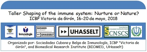 Taller Shaping the immune system: Nurture or Nature?
