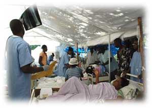 ortopédicos cubanos colaboración Haití