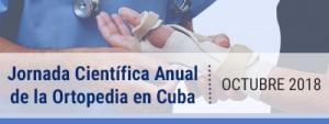 jornada científica anual de la ortopedia en Cuba 2018