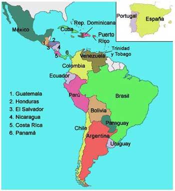 Sitios universitarios en América Latina y el Caribe
