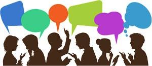 opiniones y espacios sociales