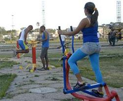 gimnasio biosaludable ejercicios